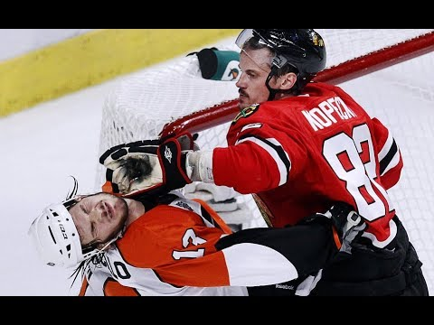 BEST NHL HITS 17/18