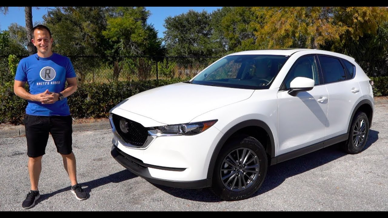 Is The 2020 Mazda Cx 5 The Suv To Buy Over A Toyota Rav4 Or Honda Cr V Youtube