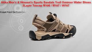 Atika Men's \u0026 Women's Sports Sandals