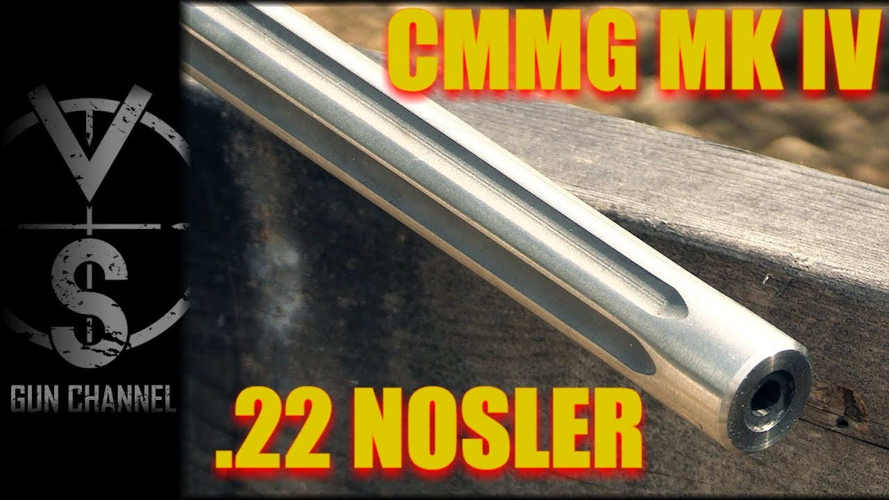 A Faster AR-15: CMMG MK IV in  22 Nosler