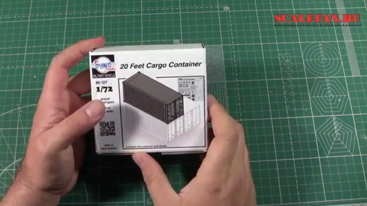 Shipping container home model kit
