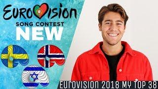 Eurovision 2018-My Top 38(so far)