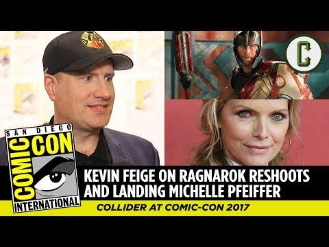Kevin Feige on Thor: Ragnarok Reshoots & Landing Michelle Pfeiffer for Ant-Man 2