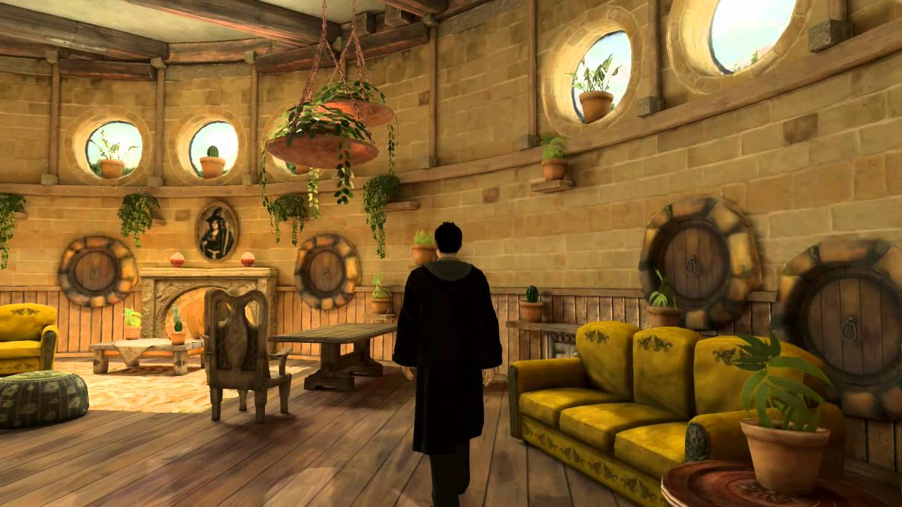 Playstation Home Pottermore Hufflepuff Common Room Youtube