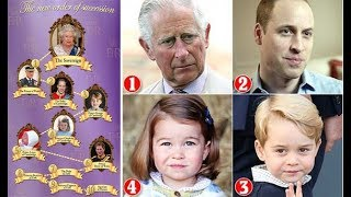prince louis of cambridge has become the fifth in line to the throne