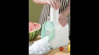 가정용 자동 얼음 가는 기계 팥 눈꽃빙수 제빙기