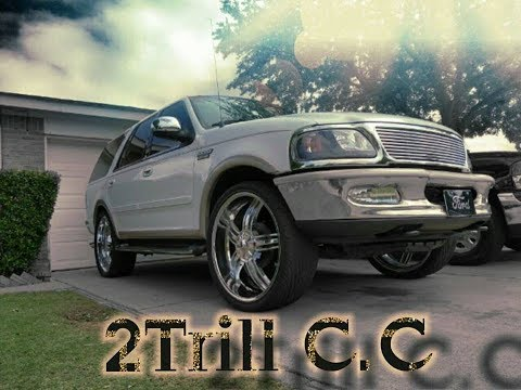 "Ford Expedition on 26s"" 2Trill C.c"