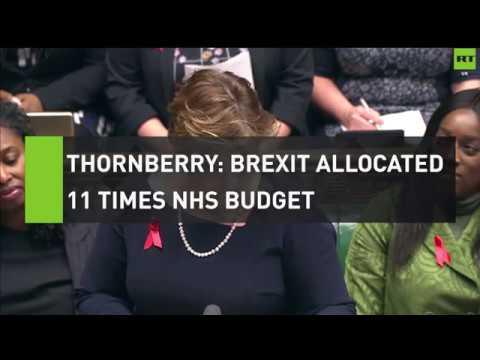 Thornberry slams Tories for allocating 11 times NHS budget on Brexit
