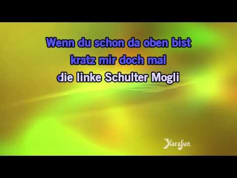 Karaoke Probier's mal mit Gemütlichkeit - Das Dschungelbuch *