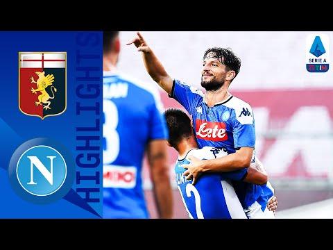 Genoa 1-2 Napoli   Mertens-Lozano, il Napoli vola   Serie A TIM