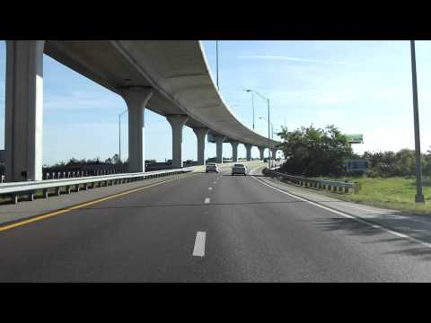Lee Roy Selmon Expressway (FL 618 Exits 9 to 15) eastbound (Local Lanes)