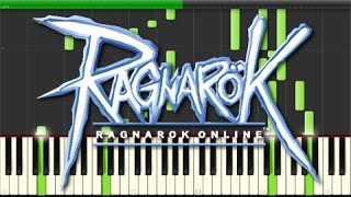 Ragnarok Online - Theme of Payon (Piano Tutorial, Synthesia)