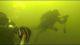 В Волгограде бойцы Росгвардии обследуют стратегические объекты под водой