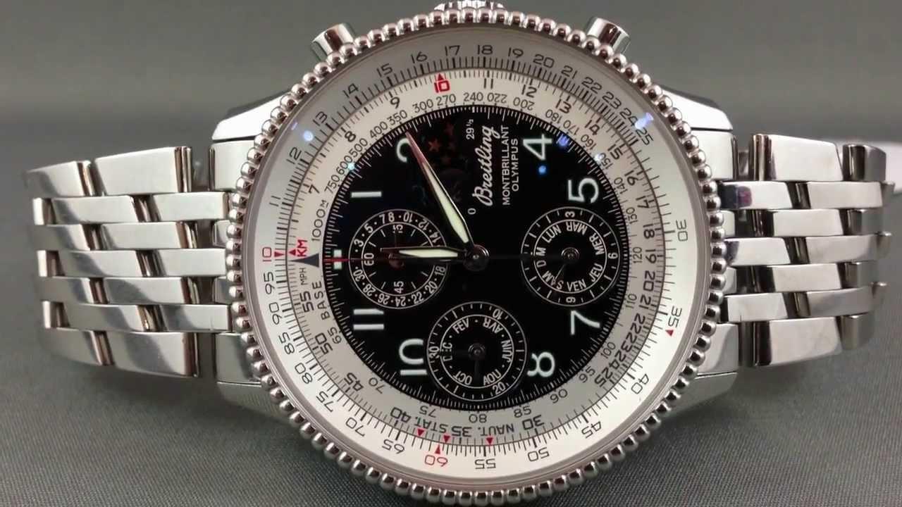 Breitling For Bentley >> Breitling Navitimer Montbrillant Olympus Chronograph ...