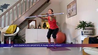 Yvelines | Des exercices sportifs à faire chez vous!
