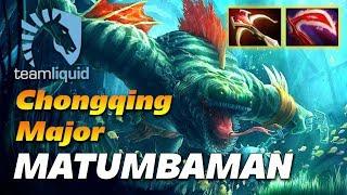 MATUMBAMAN Tidehunter Carry | Liquid vs TNC | Chongqing Major Dota 2