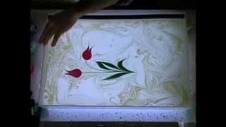 Ebru Yapımında Tekne ve Boya Ayarları İbrahim Sami Özen