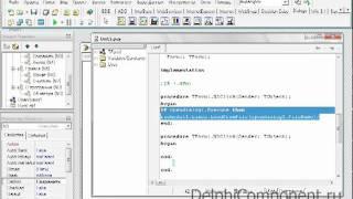 Создание продвинутого текстового редактора в Delphi(Больше видеоуроков тут: http://master.delphicomponent.ru/ Пожалуйста поделитесь этим видео с друзьями! Вы очень поможете..., 2011-06-14T08:47:40.000Z)