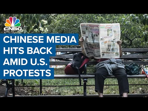 Chinese media weaponizes U.S. discontent amid nationwide protests