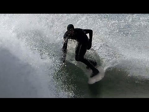HAMPTONS, Coopers Beach Surfing in [4K] slow motion