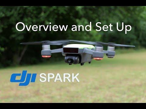 DJI Spark - Overview, Set Up, Indoor Flight