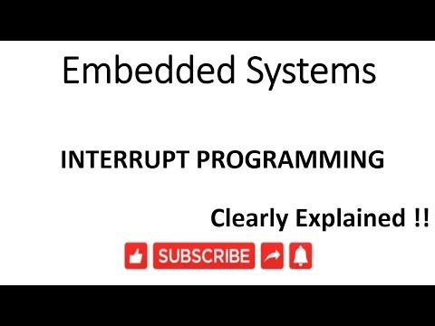 [ES-EN-29]8051 Interrupt Programming -lesson -29