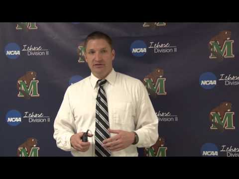 Men's Basketball vs. Sioux Falls Post Game Interview