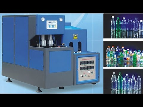 Instruction video tips of how to operate PET bottles blowing