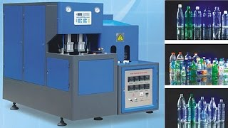 Instruction video tips of how to operate PET bottles blowing machine two Cavity how to connect wire