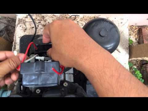 ซ่อมปั๊มน้ำ แรงดันคงที่ Mitsubishi EP-205