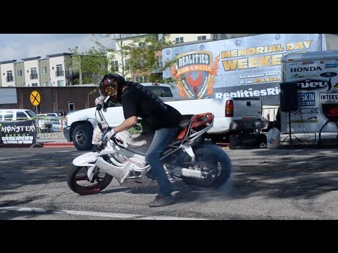 Ft. Collins, CO Motorcycle Rally & Stunt Show (Realities Ride)