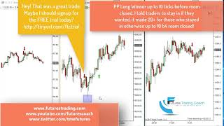 121817 -- Daily Market Review ES CL GC NQ - Live Futures Trading Call Room