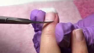 Как делается комбинированный маникюр? Приходи научим