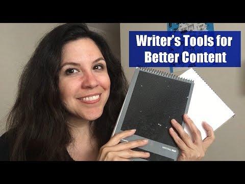 Writing Tools for Content Creators | #SSSVEDA