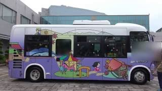 (4k)福岡県那珂川町 ミリカローデンで行われたバスの日イベントでいろいろなバスを撮ってみた