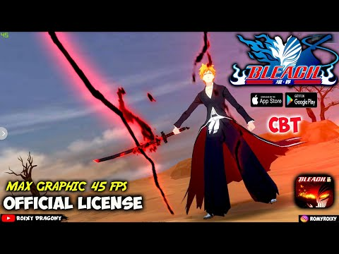 BARUU !!! 😱 Official License !!! BLEACH : Realm Death Match (CBT) Android Anime 3D RPG
