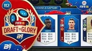 RONALDO AND PELE!   FIFA 18 WORLD CUP DRAFT TO GLORY #112