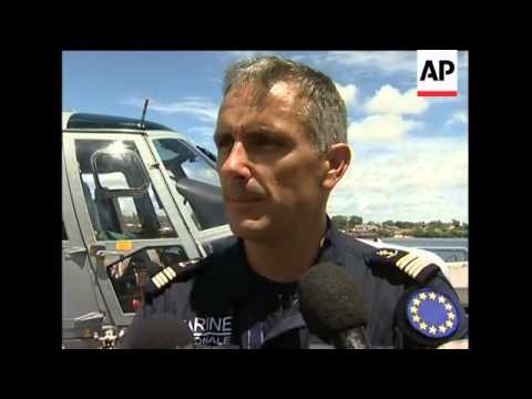 WRAP Pirate suspects arrive in Mombasa; police, EU legal adviser, navy captain