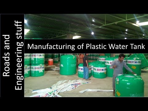 LLDPE-PVC Biaxial rotational moulding machine manufacturing water tank-roads and engineering stuff