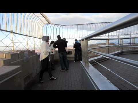 Empire State Building 86th Floor Observation Deck.