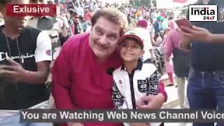 Exclusive story : Bollywood actor  Raza Murad enjoys Retreat Ceremony at Attari Border