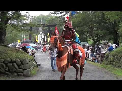 相馬野馬追いから東北の祭りが始まる。
