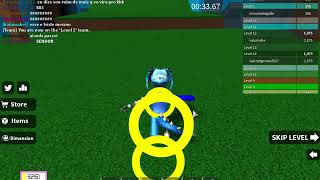 Jogando Speed run 4 (Roblox)