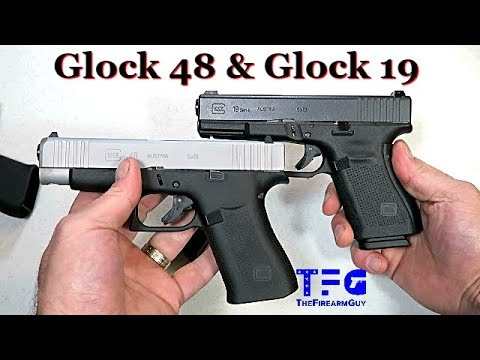Glock 48 Review & Compared to Glock 19 - TheFireArmGuy