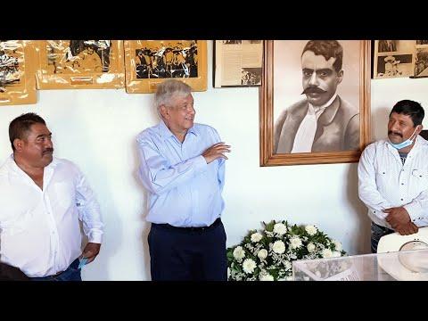 102 Aniversario Luctuoso de Emiliano Zapata