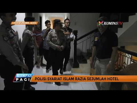 Polisi Syariat Islam Aceh Gelar Razia di Hotel