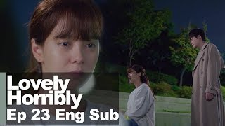 """Song Ji Hyo """"I'm scared now. So I want to run away"""" [Lovely Horribly Ep 23]"""