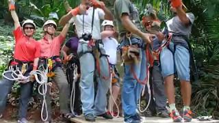 видео Зиплайнинг (Canopy Tours)