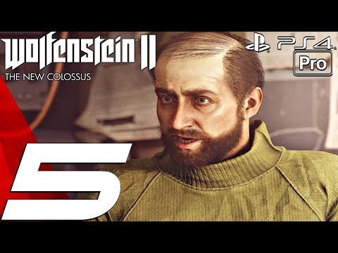 Wolfenstein 2 New Colossus - Gameplay Walkthrough Part 5 - Roswell, New Mexico (PS4 PRO)