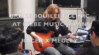 Bruce Bouillet clinic at Ikebe Music Japan Subscribe to my channel....